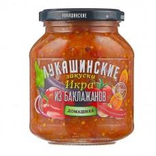 "Eggplant paste ""Lukashinskie"" Homestyle 340g"