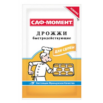 "Fast-acting yeast ""Saf-Moment"" 12g"