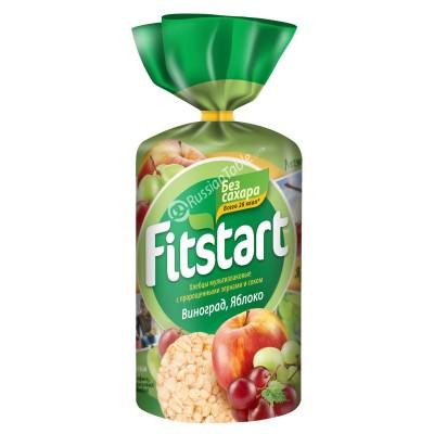 """""""Fitstart"""" Crisp Multi-grain Bread (Hlebtsy)  Grapes Apple"""