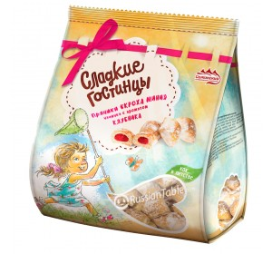 "Gingerbread ""Krokha mini"" Strawberry filling 380g"