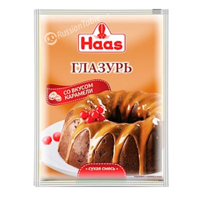 "Glaze ""Haas"" Caramel flavor 80g/2.82oz"