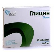 Glycine OZON 50 tab.