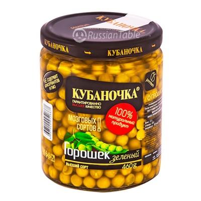 "Green peas ""Kubanochka"" 460g"