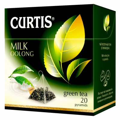 "Green tea ""Curtis"" Milk Oolong (20 count)"