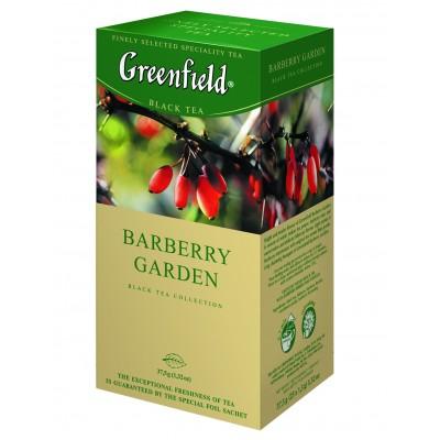 "Greenfield Black Tea ""Barberry Garden""(25 count)"