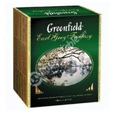 "Greenfield Black Tea ""Earl Grey Fantasy"" 100 count"