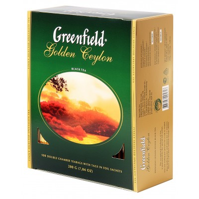 "Greenfield Black Tea ""Golden Ceylon"" (100 count)"