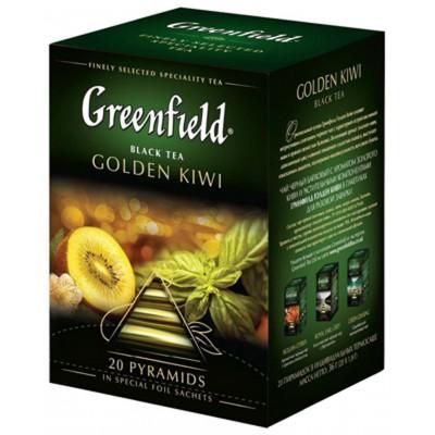 "Greenfield Black Tea ""Golden Kiwi"" (20 count)"