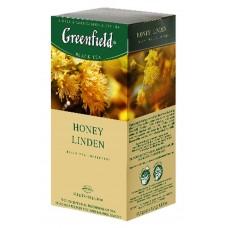 "Greenfield Black Tea ""Honey Linden"" 25 bags"