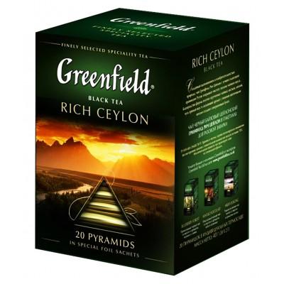 "Greenfield Black Tea ""Rich Ceylon"" (20 count)"