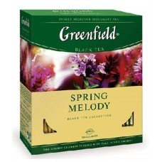 "Greenfield Black Tea ""Spring Melody"" 100 count"