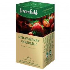 "Greenfield Black Tea ""Strawberry Gourmet""  (25 count)"