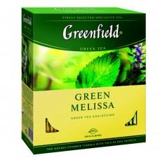 "Greenfield Green Tea ""Green Melissa"" 100 pak"