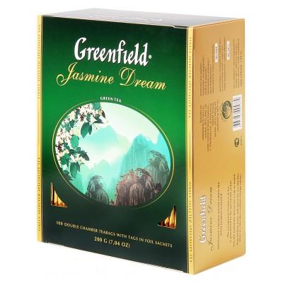 "Greenfield Green Tea ""Jasmine Dream"" 100 count"