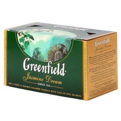 "Greenfield Green Tea ""Jasmine Dream"" 25 count"