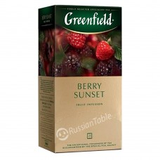 """Greenfield Herbal Tea """"Berry Sunset"""" (25 count)"""