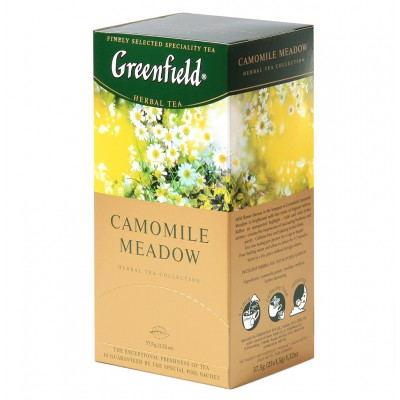 """Greenfield Herbal Tea """"Camomile Meadow"""" (25 count)"""