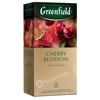 "Greenfield Herbal Tea ""Cherry Blossom"" (25 count)"