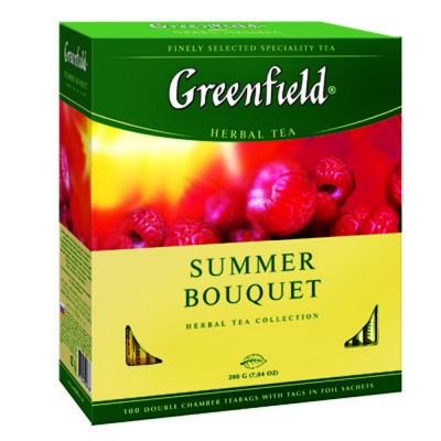 "Greenfield Herbal Tea ""Summer Bouquet"" (100 count)"