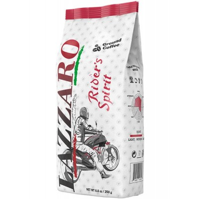 "Ground Coffee ""Lazzaro"" Riders Spirit 250g/8.8oz"