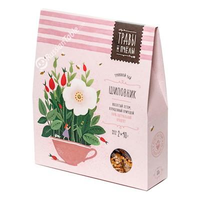 """Herbal tea """"Bees&Honey"""" Rosehip 80g"""