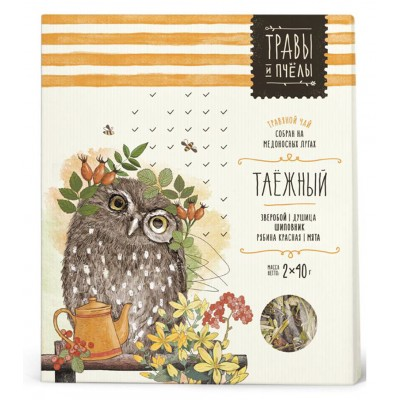 "Herbal tea ""Bees&Honey"" Taiga 80g"