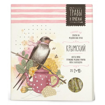 "Herbal tea ""Bees&Honey"" Crimean 80g"