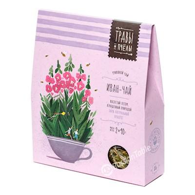 """Herbal tea """"Bees&Honey"""" Ivan-Tea 80g"""