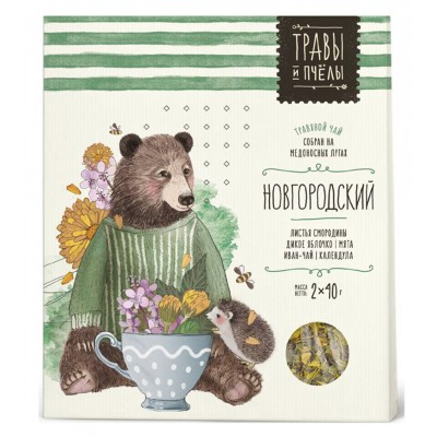 "Herbal tea ""Bees&Honey"" Novgorod Style 80g"