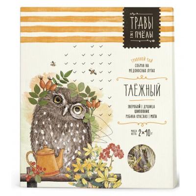 "Herbal tea ""Bees&Honey"" Taiga 80g"