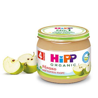 """HiPP"" Apple Puree 80g/2.82oz (4 month +)"