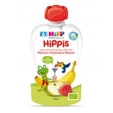 """HiPP"" Apple/Strawberry/Banana Puree 100g/3.52oz (6 month +)"