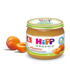 """HiPP"" Apricot Puree 80g/2.82oz (4 month +)"