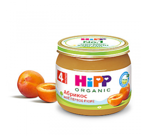 """HiPP"" Aricot Puree 80g/2.82oz (4 month +)"