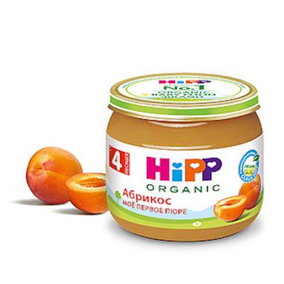 """HiPP"" Aricot Puree 80g/2.82oz (4 month +)"