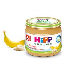 """HiPP"" Banana Puree 80g/2.82oz (6 month +)"