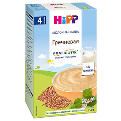 """HiPP"" Buckwheat Milk & Cereal 250g/8.8oz (4 Month +)"