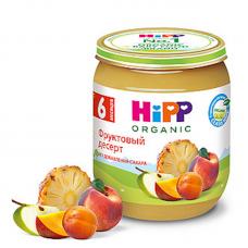 """HiPP"" Fruit Puree Dessert 125g/4.4oz (6 month +)"