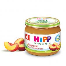 """""""HiPP"""" Peach Puree 80g/2.82oz (4 month +)"""