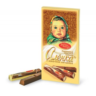 "Imported Russian Chocolate sticks ""Alionka"""