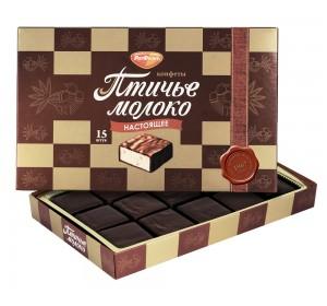 "Imported Russian Chocolates ""Ptichye Moloko"" 200gr"