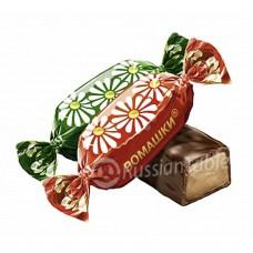 "Imported Russian Chocolates ""Romashka"" 1 lb"