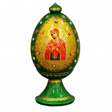 "Imported Russian ""Wooden Egg"" with natural flower honey"