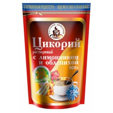"""Instant Chicory """"Russian Chicory"""" with lemon grass and sea buckthorn (zip)"""