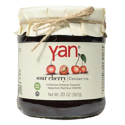 "Jam ""Yan"" Sour cherry 567g/20oz"