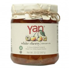 "Jam ""Yan"" White Cherries 567g/20oz"