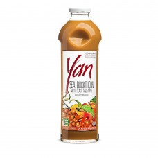 "Juice ""Yan BIO"" Sea Buckthorn and Peach and Apple 1L/33.8oz"