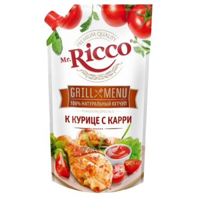 "Ketchup ""Mr. Ricco"" Chicken Curry 350g"