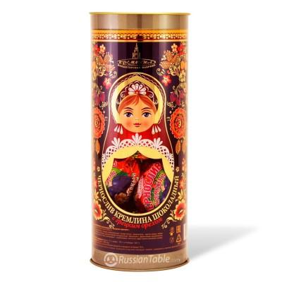 KREMLINA сhocolate prune with walnuts in tube packaging 250g
