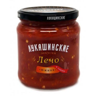 """Lecho (Pepper) """"Lukashinskie"""" with Adzhika 460g"""